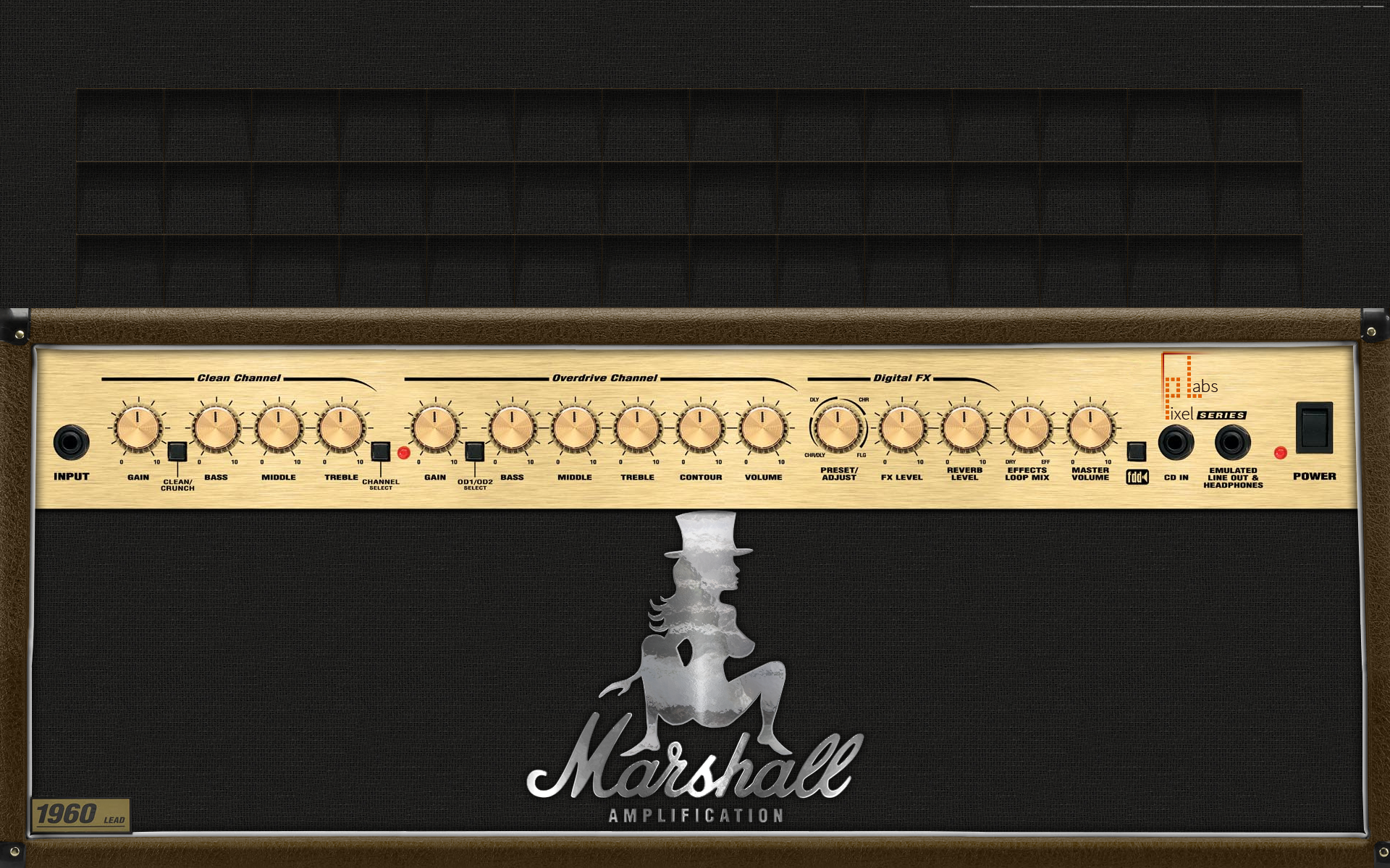Pixel Labs Marshall Amp Wallpaper
